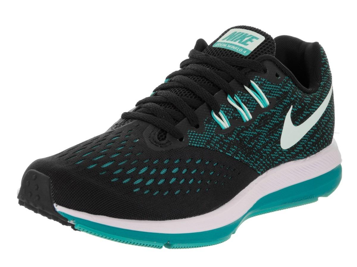 0e263041f Zapatillas Nike Zoom Winflo 4 Running Dama Nuevas 898485-014 ...