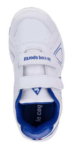 zapatillas nils strap blanco kids le coq sportif