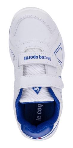 zapatillas nils strap blanco kids le coq sportif original