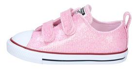 converse rosa niña 24