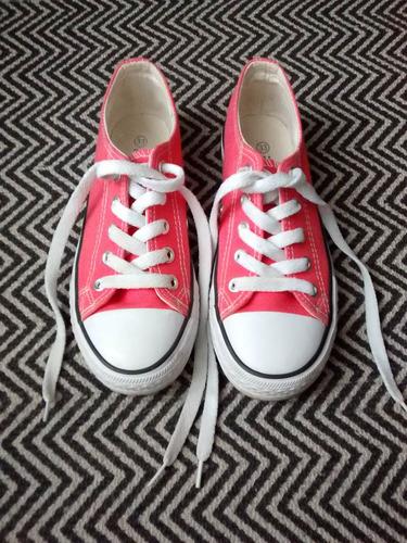 zapatillas niña lona nº 33 - nuevas