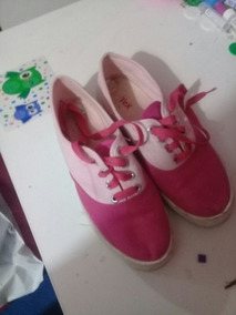 Zapatillas Niña Rosa Poco Uso Excelente Estado