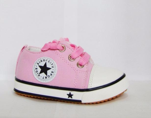Niña Talla 21 Casual Zapatillas Tipo Pink Convers D9Ye2EWHI