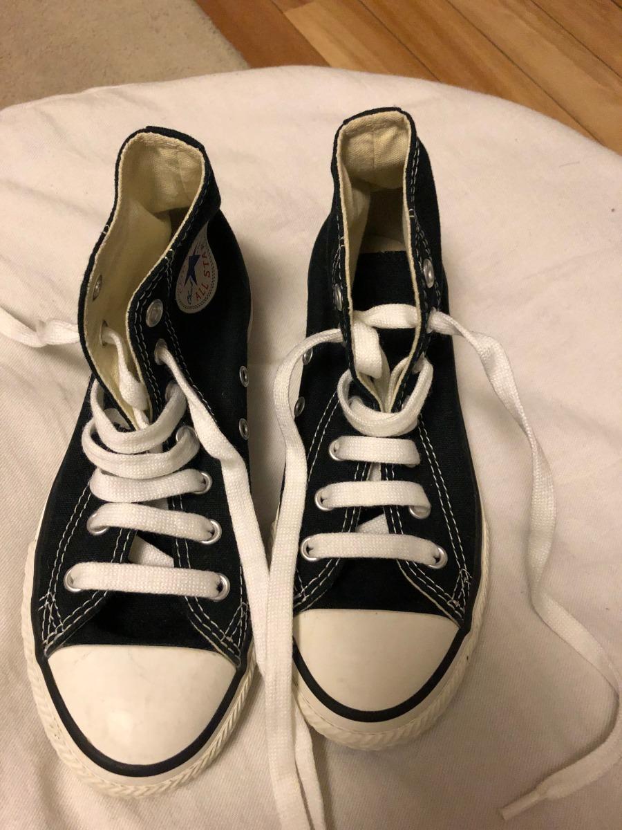 marca famosa elegir oficial baratas Zapatillas Niñas Converse Botas Negras N°2 Usa Chuck Taylor ...
