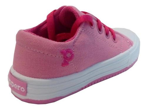 zapatillas niñas niños puntera marca pampero modelo fran