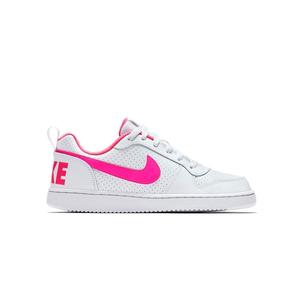 e77d003a5 zapatillas niño nike court borough low pink -sc. Cargando zoom.