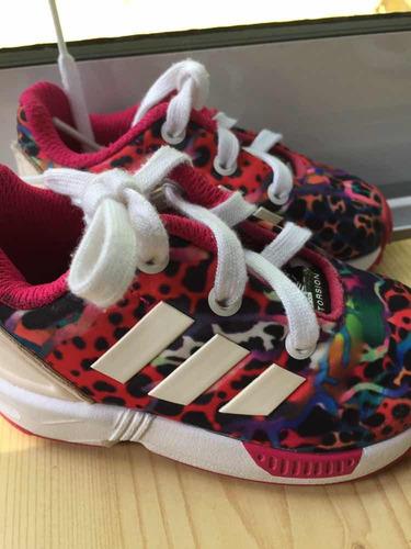 zapatillas niños adidas torsion multicolor talle 19