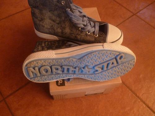 zapatillas north star talla 38 nuevas