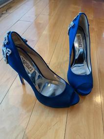 85e3eb6d Zapatos De Novia Azules En Monterrey en Mercado Libre México
