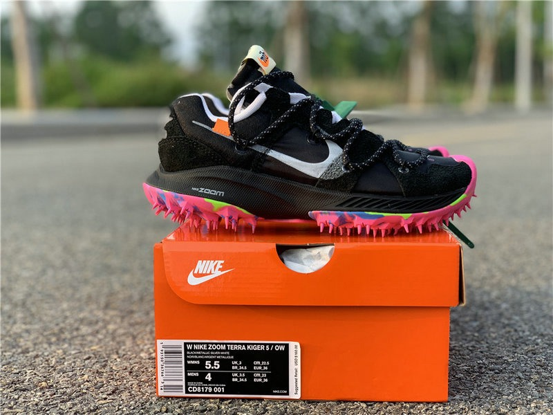 Zapatillas Off white X Nike Zoom Terra Kiger 5 Black T:36 45