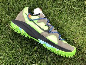 Zapatillas Off white X Nike Zoom Terra Kiger 5 Verde T:36 45
