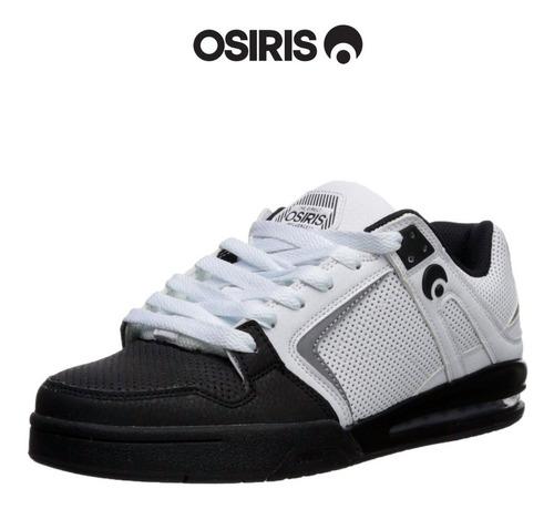 zapatillas osiris pxl withe  black