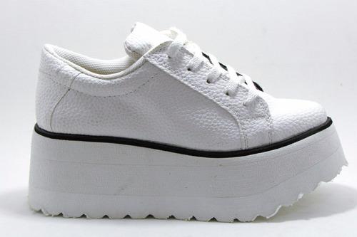 zapatillas panchas con plataforma - super livianas