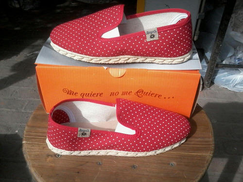 zapatillas panchas femeninas (margarita mia)