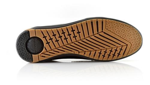 zapatillas panchas hombres cuero 117902-07 pegada luminares