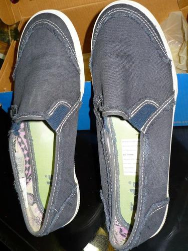 zapatillas panchas keds alpargatas nª37talle 7,5 mod catheri