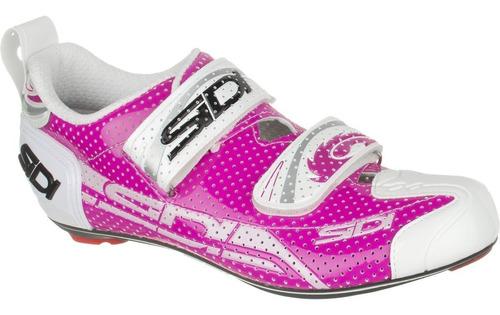 zapatillas para ciclismo sidi t4 air carbon triatlon  mujer