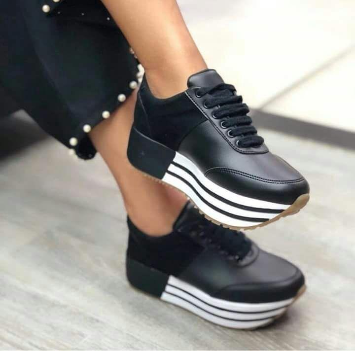 d585e9d4 Zapatillas Para Dama Modelos Nuevos :) - S/ 110,00 en Mercado Libre