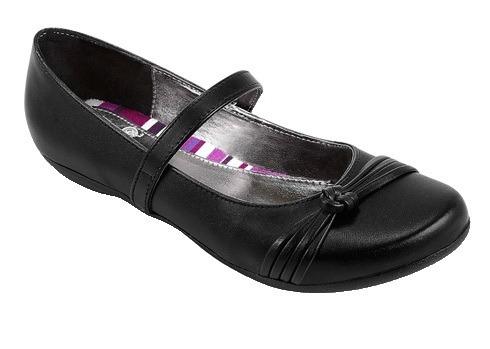 zapatillas para dama perla negra color negro