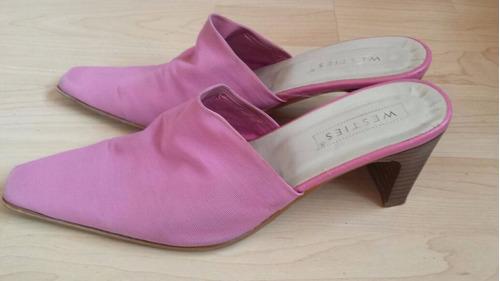 zapatillas para dama rosas # 24
