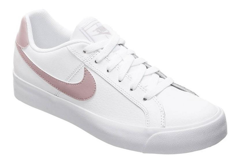 Zapatillas Para Mujer Nike Court Royales Originales Ndph