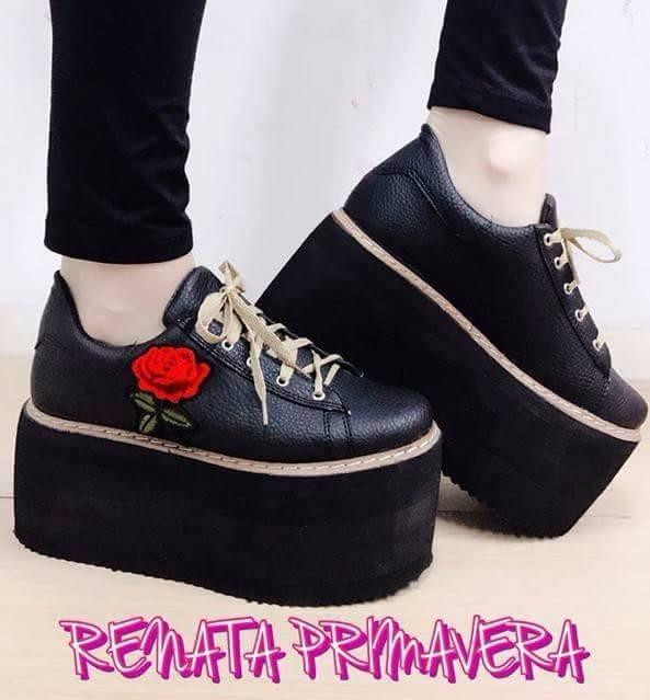 2204a938f036 Zapatillas Para Mujeres Cancheras Plataforma Renata - $ 1.000,00 en ...