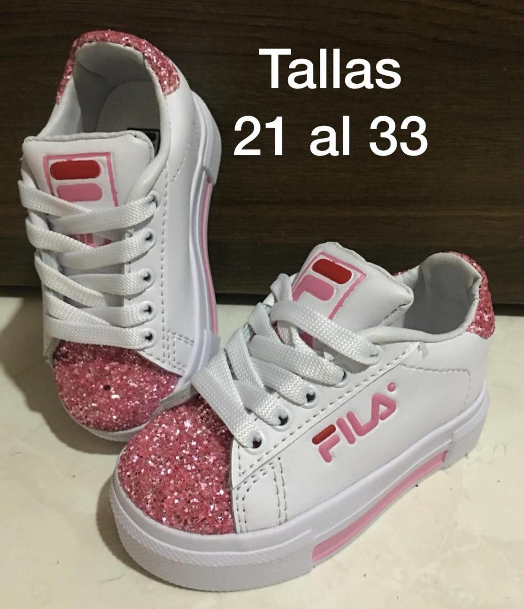 Zapatillas Para Niñas En Tallas 21 Al 33 -   89.900 en Mercado Libre 279b14df97287