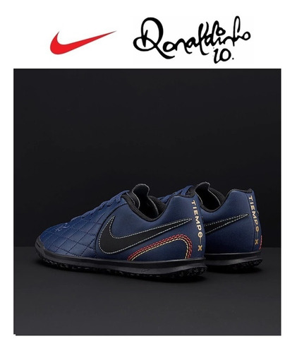 zapatillas para niño nike ronaldinho tiempox para losa nueva
