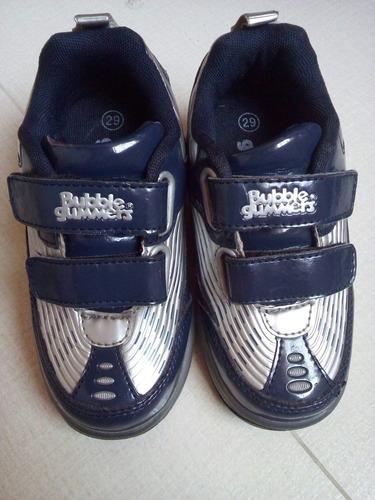 zapatillas-patín semi nueva bubble gummers para niño talla29