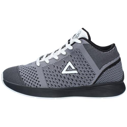 zapatillas peak hombre basketball gris negro-3014