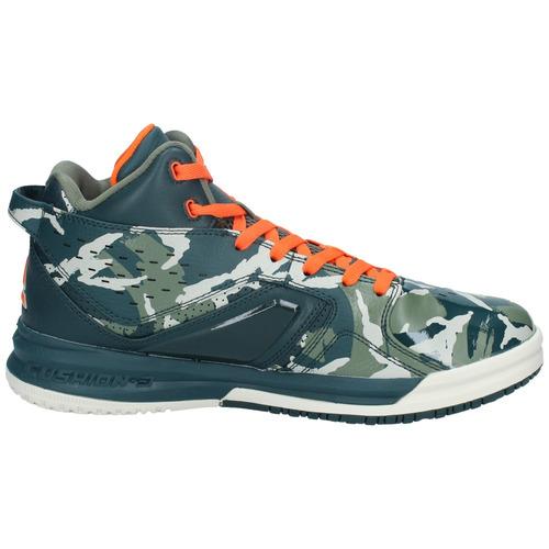 zapatillas peak hombre basketball verde army-3012