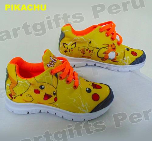 zapatillas personalizadas pokemon go modelos