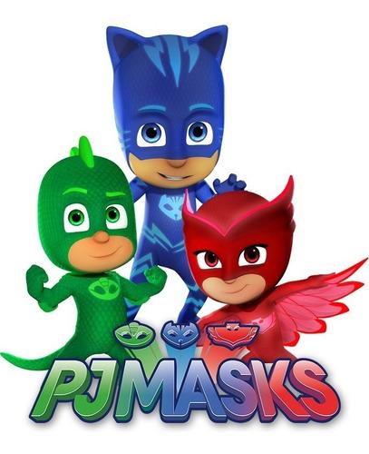 zapatillas pj masks heroes en pijamas con luz footy 405 406