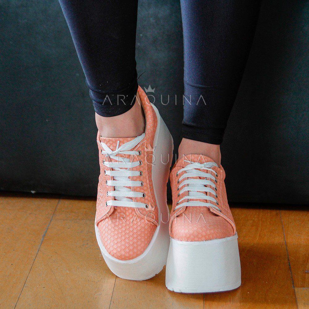 e0a43cf3dd5e7 Zapatillas Plataforma Mujer Candi