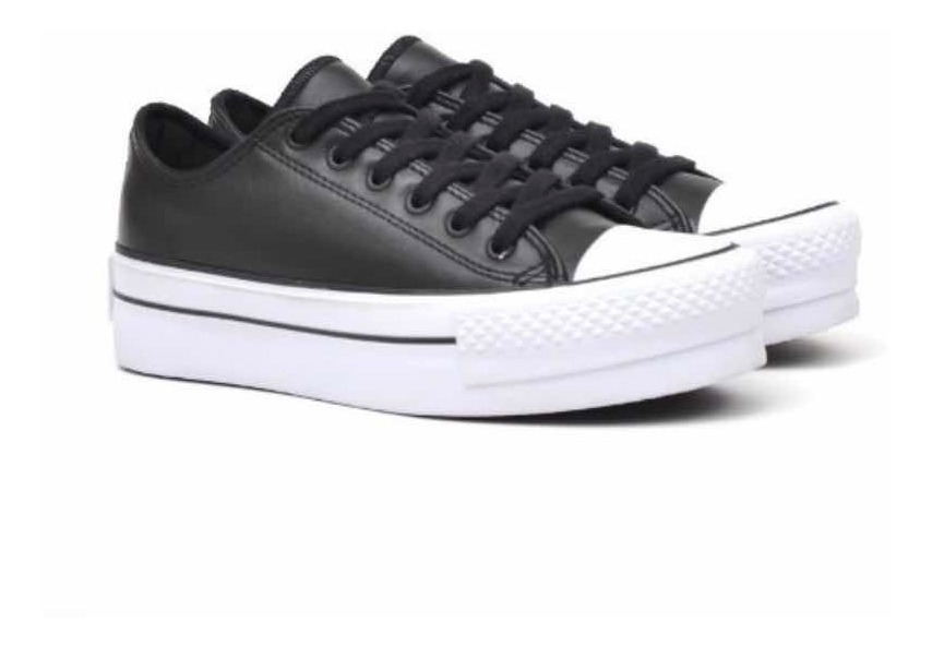 converse all star mujer negras