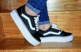 zapatillas vans negras mujer altas