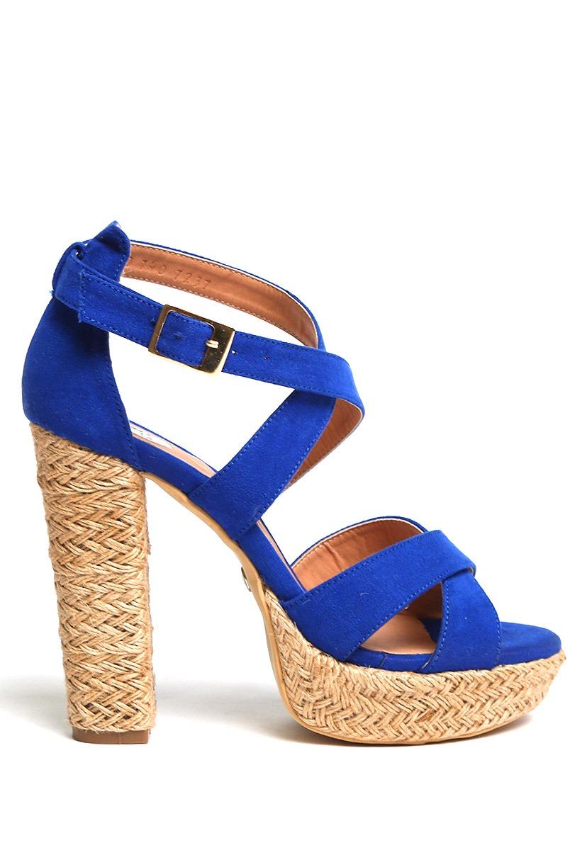 d417b26a79b22 zapatillas plataformas azules sexys sandalias altas moda lob. Cargando zoom.