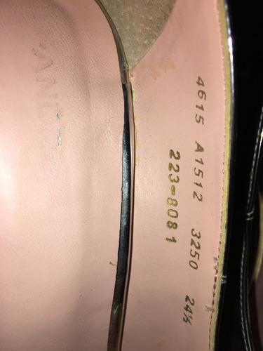 zapatillas plateadas 24.5 marca andrea.