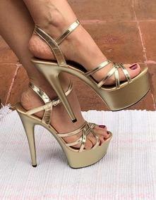 bd781a74 Tacones De 15 Cm Mujer Zapatillas - Zapatos en Mercado Libre México