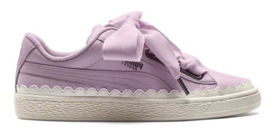 zapatillas puma basket de mujer