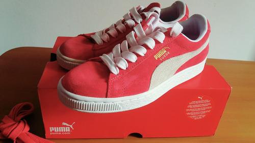 zapatillas puma color: fucsia talla 36 (nuevas)