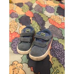 Zapatillas Puma. Con Velcro. T22 . Importadas