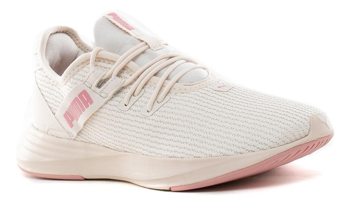 zapatillas puma de mujer beige