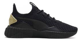 zapatillas puma de mujer negras
