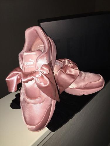 zapatillas puma fenty by rihanna rosadas - 100% originales