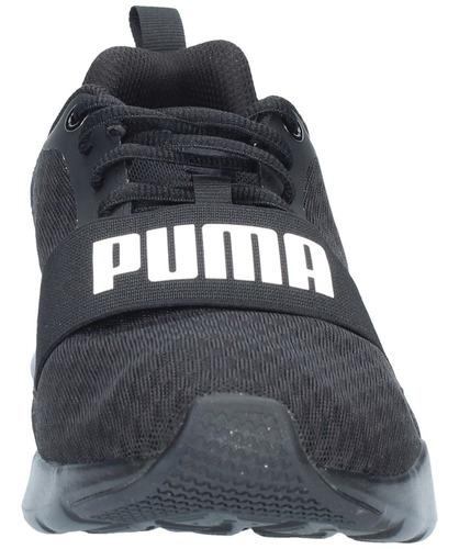 zapatillas puma hombre training wired negro-1602