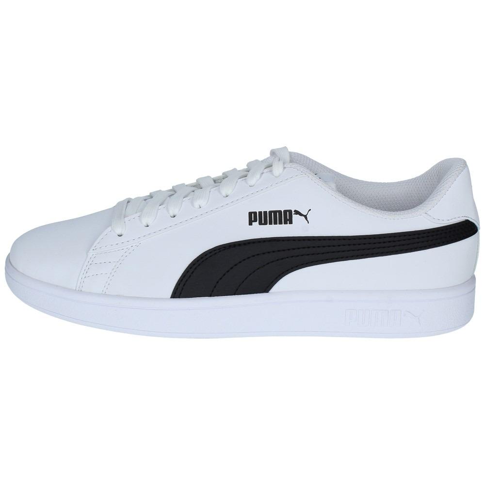 0213f4650 zapatillas puma hombre urbana smash v2 buck blanca-negra-189. Cargando zoom.