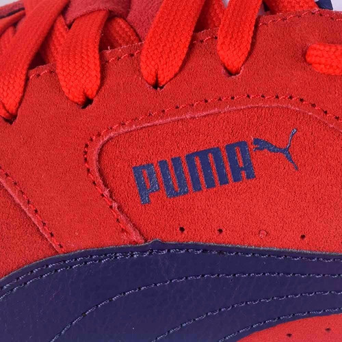zapatillas puma icra trainer sd gamuza rojal originales
