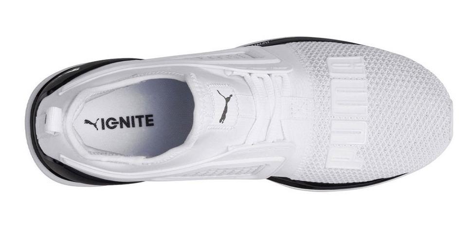 Zapatillas Puma Ignite Limitless Blancas Para Hombre Ndph