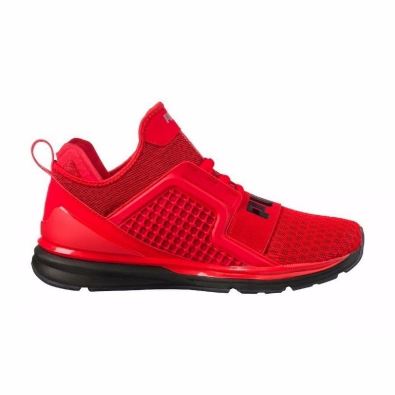 zapatillas puma rojas